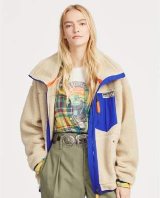 Polo Ralph Lauren Faux-Shearling Zip Jacket