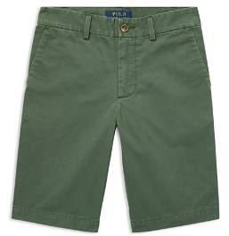 Ralph Lauren Boys' Slim-Fit Cotton Chino Shorts - Big Kid