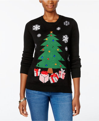 Karen Scott Petite Christmas Tree Sweater, Only at Macy's $49.50 thestylecure.com