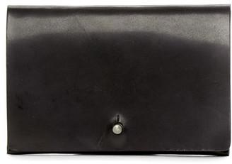 Rick Owens Black Flat Wallet $295 thestylecure.com