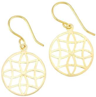 Mela Artisans Gold Filigree Earrings