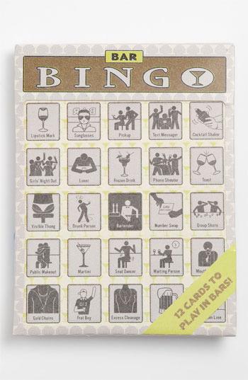 Knock Knock Bar Bingo Cards