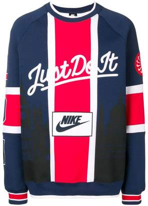 6b494f87 Nike University 'Just Do It' jersey sweater