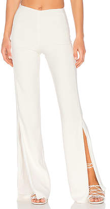 Lovers + Friends x REVOLVE Slash Pants in White $138 thestylecure.com