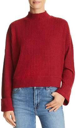 Band of Gypsies Mackenna Cropped Ribbed Sweater