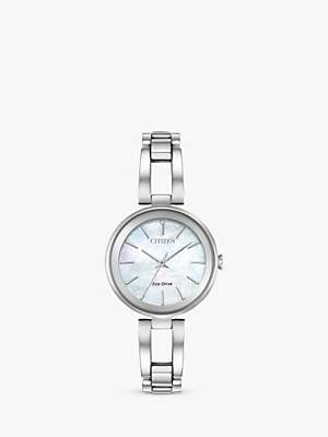 Citizen Women's Axiom Eco-Drive Bracelet Strap Watch