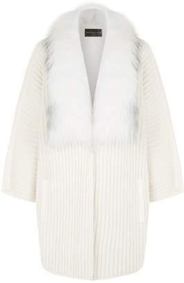 Fabiana Filippi Fox Fur Trim Jacket