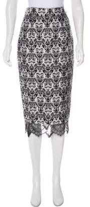 Thomas Wylde Silk Blend Skirt Black Silk Blend Skirt