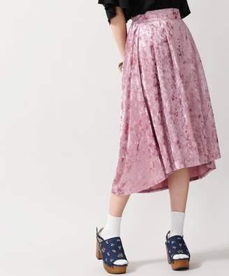 WEGO (ウィゴー) - ウィゴー クラッシュベロアミディスカート