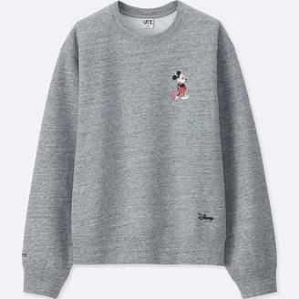 Uniqlo Women's Mickey Art Long-sleeve Sweatshirt (andy Warhol)