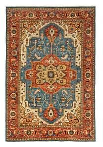 Adina Collection Oriental Rug, 6'1 x 8'10
