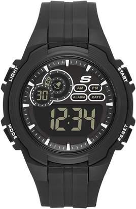 Skechers Men's Quartz Plastic Casual Watch, Color: