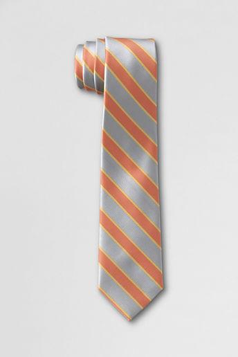 Lands' End School Uniform Adult Gordon Tech To-be-tied Necktie