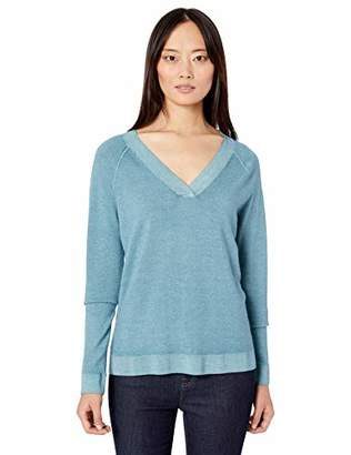 Pendleton Women's Long-Sleeve Magic Wash Merino V-Neck Sweater