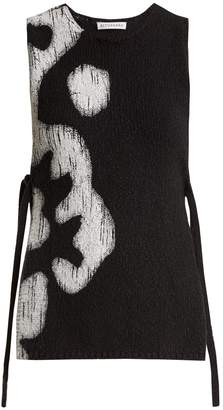 Altuzarra Louis floral-print sleeveless cotton top