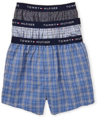 Tommy Hilfiger 3-Pack Woven Slim-Fit Boxers