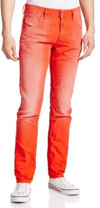 Diesel Men's Krayver Regular Slim Carrot Jeans 0818V (