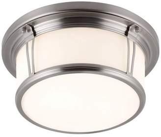Feiss 2- Light Woodward Flushmount