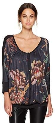 Desigual Women's Bertin Woman Knitted Short Sleeve T-Shirt