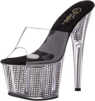 Pleaser USA Women's Ado701srs/c/b Platform Sandal