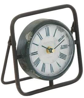 Cole & Grey Metal Clock