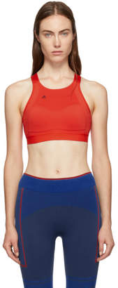 adidas by Stella McCartney Red Compression Bra