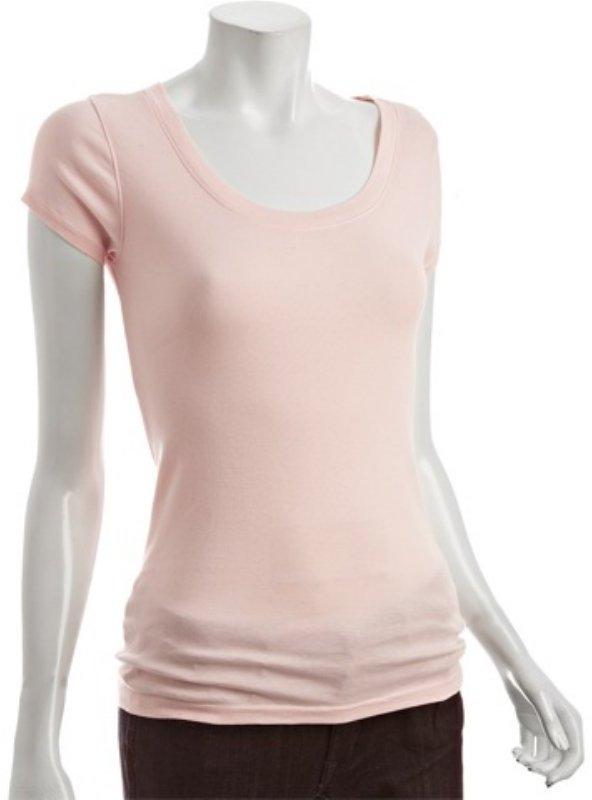 Michael Stars sugar cotton scoop neck t-shirt
