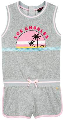 Juicy Couture Micro Terry La Sunset Romper