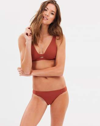 Seafolly Active Multi Rouleau Brazilian Bottoms