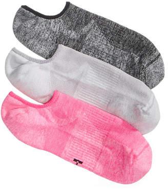 Hue Women's 3-Pk. Air Sleek Compression Cushioned Liner Socks