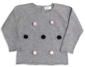 Tun Tun Girls' Knit Pom-Pom Sweater - Baby