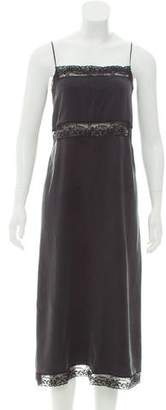 Robert Rodriguez Silk Midi Dress w/ Tags
