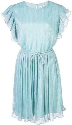 Zac Posen Samantha ruffled sleeve dress