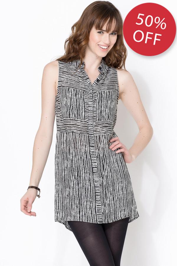Dolce Vita Striped Shirtdress