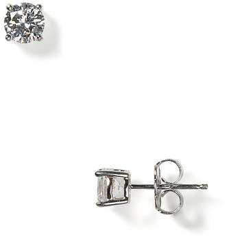 Crislu Stud Earrings, 4mm
