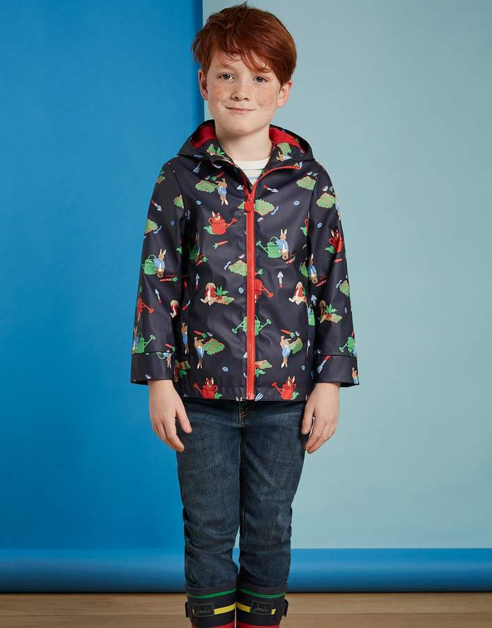 Joules Clothing Potter Garden Official peter rabbitTM movie collection Waterproof Jacket 112yr