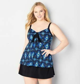 Avenue Nova Ikat Flyaway Swim Top
