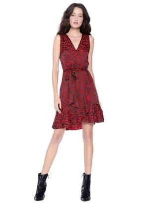 Alice + Olivia Brooks Fit And Flare Dress