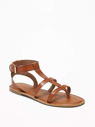 Old Navy Faux-Leather Gladiator Sandals for Women