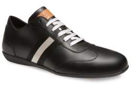 Bally Harlam Leather Bowling Sneakers