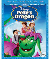 Disney Pete's Dragon Blu-ray and DVD Combo Pack - 35th Anniversary Edition