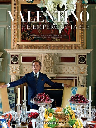 Assouline アートブック Valentino: At the Emperor's Table