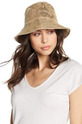 Free Press Metallic Bucket Hat