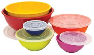 6 Piece Ceramic Mixing Bowl Set