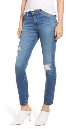 AG Jeans The Prima Ripped Ankle Cigarette Jeans