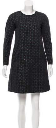 Hache Brocade Mini Dress