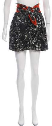 Isabel Marant Printed Knot Skirt