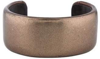 Brunello Cucinelli Metallic Leather Cuff