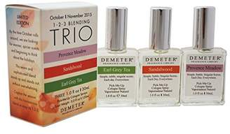 Demeter Blending Trio for Unisex 3 Piece Gift Set with Provence Meadow Cologne Spray