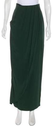 Guy Laroche Pleated Maxi Skirt